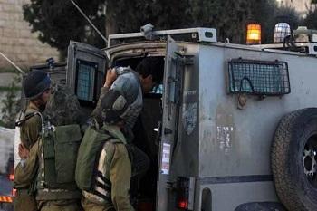 بازداشت شدن ۱۷ فلسطینی در کرانه باختری