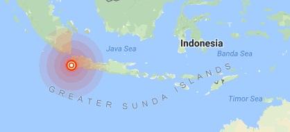 زلزله 6 ریشتری در جاکارتا اندونزی