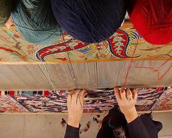 بازار کم رونق فرش دستباف در سنقر