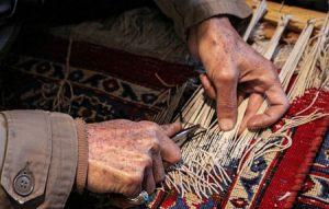 آشنایی با هنر رفوگری قالی