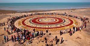 رونمایی از هفتمین فرش خاکی جزیره هرمز به تعویق افتاد