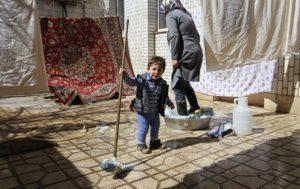 خانه تکانی های نوروزی در بحبوحه بحران آبی