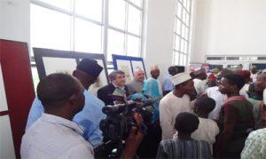 نمایشگاه و کارگاه آموزشی قالی بافی در نیجریه برپا شد