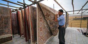 قالیشویی درهمدان در آستانه سال نو