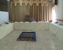 برپایی نمایشگاهی از آثار فرش بافی دانش آموزان ناشنوا
