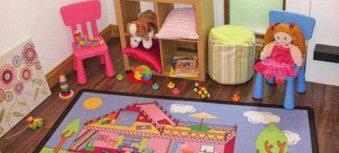 فرش اتاق کودک باید چه جنسی باشد؟