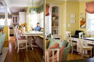 اصول چیدمان دکوراسیون خانه با وسایل رنگی