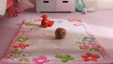قلق انتخاب و خرید فرش اتاق کودک