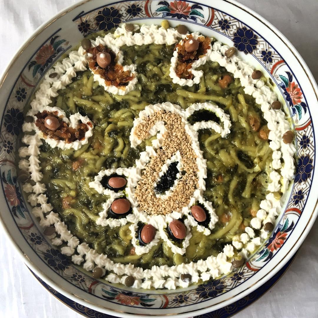 آش رشته غذای محبوب ایرانیان