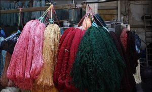 ابزار مورد استفاده در رنگرزی فرش