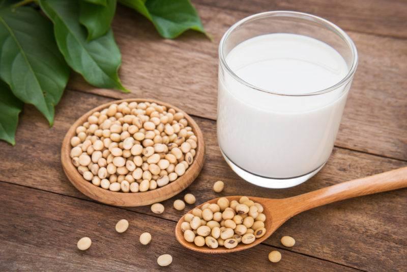 طرز تهیه شیرسویا در منزل