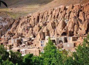 کندوان یکی از جاذبه های گردشگری استان آذربایجان شرقی