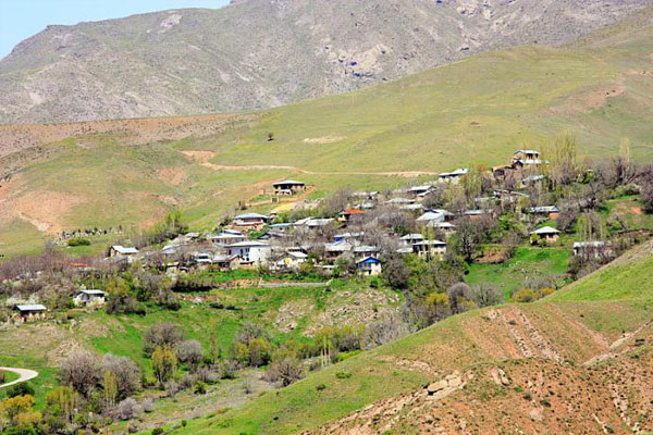 نگاهی به روستای بسیار زیبای ناریان