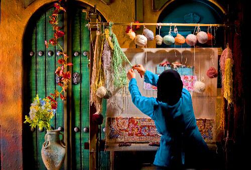 تاریخچه مختصر قالی بافی در اصفهان