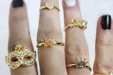 حلقه های زیبای میدی رینگ مخصوص خانم های خوش سلیقه