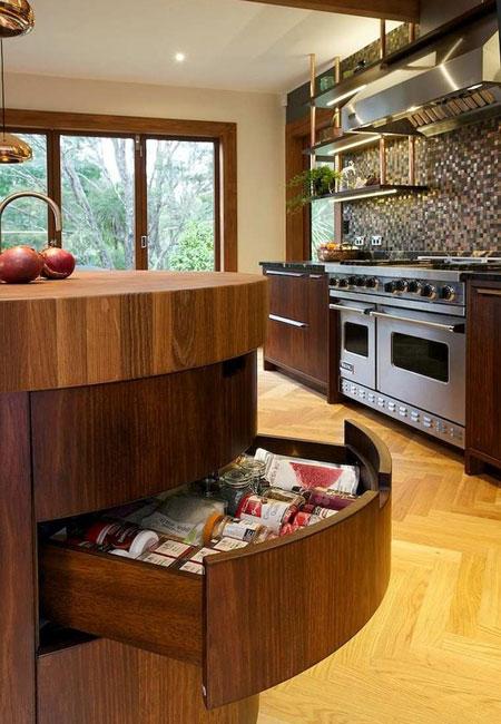 طراحی کابینت های کاربردی آشپزخانه