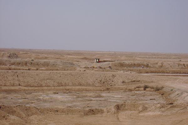 شلمچه روستا مرزی در غرب خرمشهر