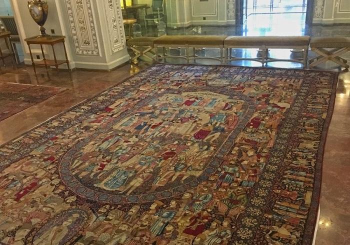فرش مشاهیر بادوام ترین فرش جهان