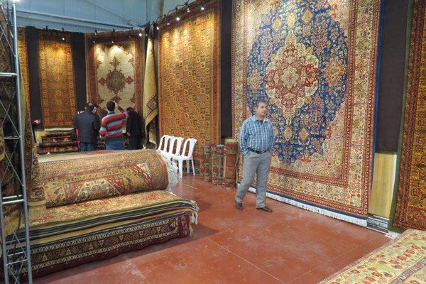 برپایی سیزدهمین نمایشگاه تخصصی فرش دستباف در همدان