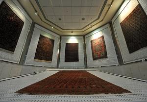 نمایش قالی و قالیچه هایی با طرح قرآنی در موزه آستان قدس رضوی