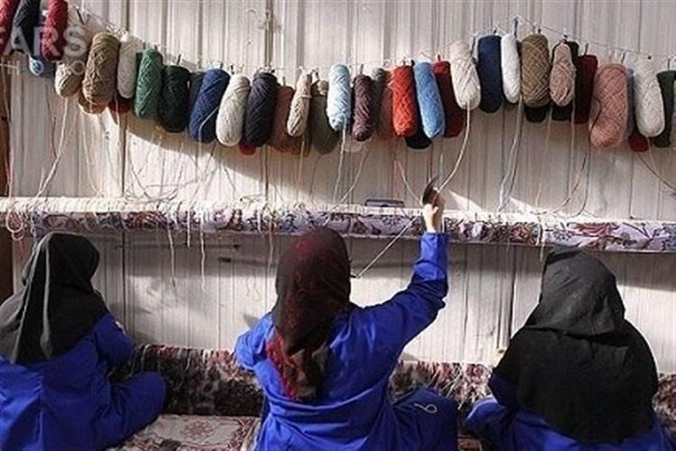 رنگ بوی جدید هنر قالیبافی و طرح مشاغل خانگی
