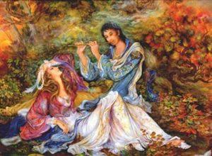 شعر در کوی بتان از اشعار هلالی جغتایی شاعر هراتی