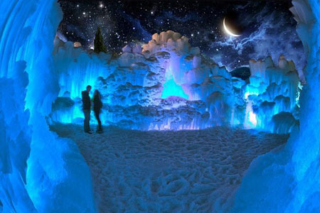 پارک یخی کانادا از جالب ترین جاذبه های یخی در جهان