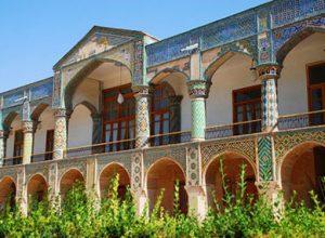 عمارت مفخم یکی از آثار بینظیر عصر ناصرالدین شاه
