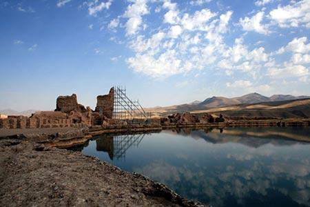 تخت سلیمان عبادتگاه ایرانیان قبل از اسلام