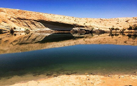 دریاچه تونس از جاذبه های عجیب گردشگری
