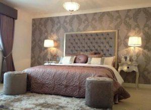 تغییر دکوراسیون اتاق خواب با کاغذ دیواری های زیبا